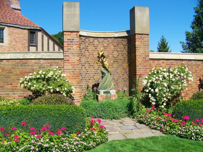 Meadow Brook Hall Garden Art