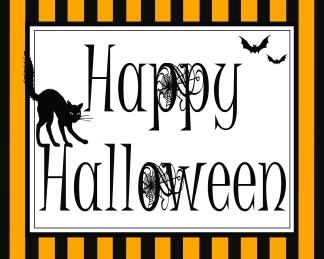 Happy Halloween 8 x 10 JPEG