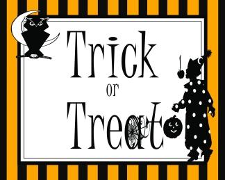 Trick or Treat 8 x 10 JPEG