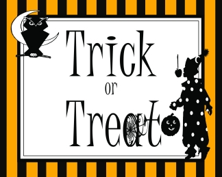 Trick or Treat 8 x 10 JPEG