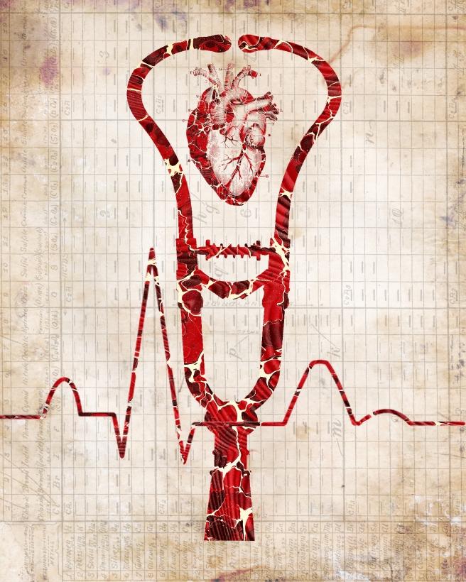 Heart Art 8 x 10