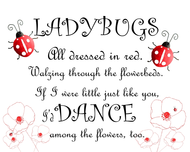 Ladybugs Dance 8 x 10
