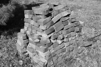 Brick bw