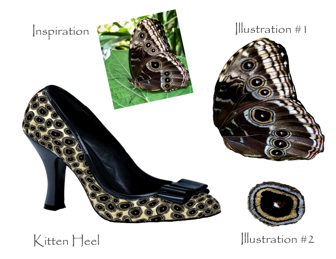 Butterfly Kitten Heel and Inspiration