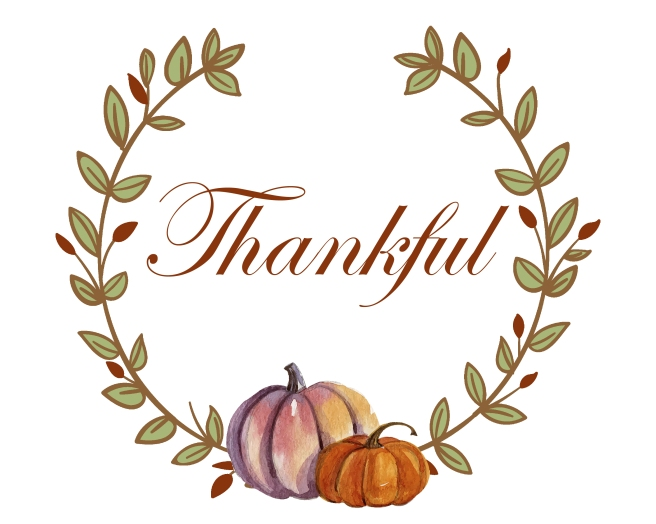 Thanksgiving Wreath Thankful